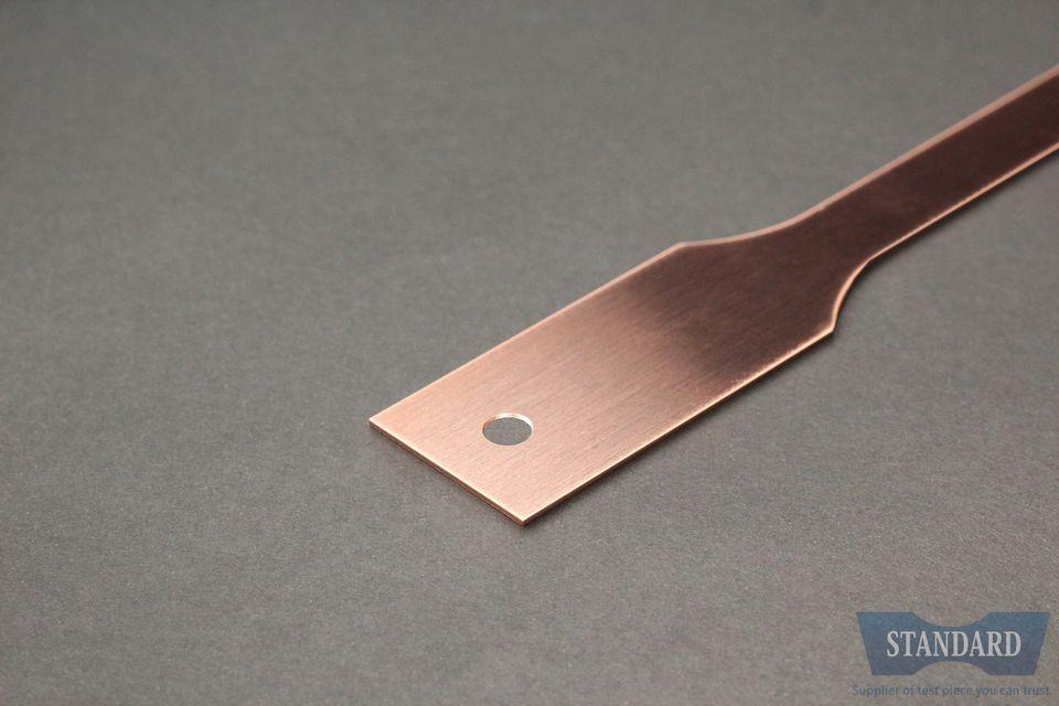 JIS Z2241,JISZ2241,13B号試験片,C1020P-1/2H,銅,t0.5mm,試験片,価格C1020P-1/2H