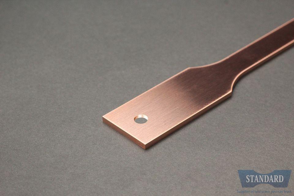 JIS Z2241,JISZ2241,13B号試験片,C1020P-1/2H,銅,t2.0mm,試験片,価格C1020P-1/2H