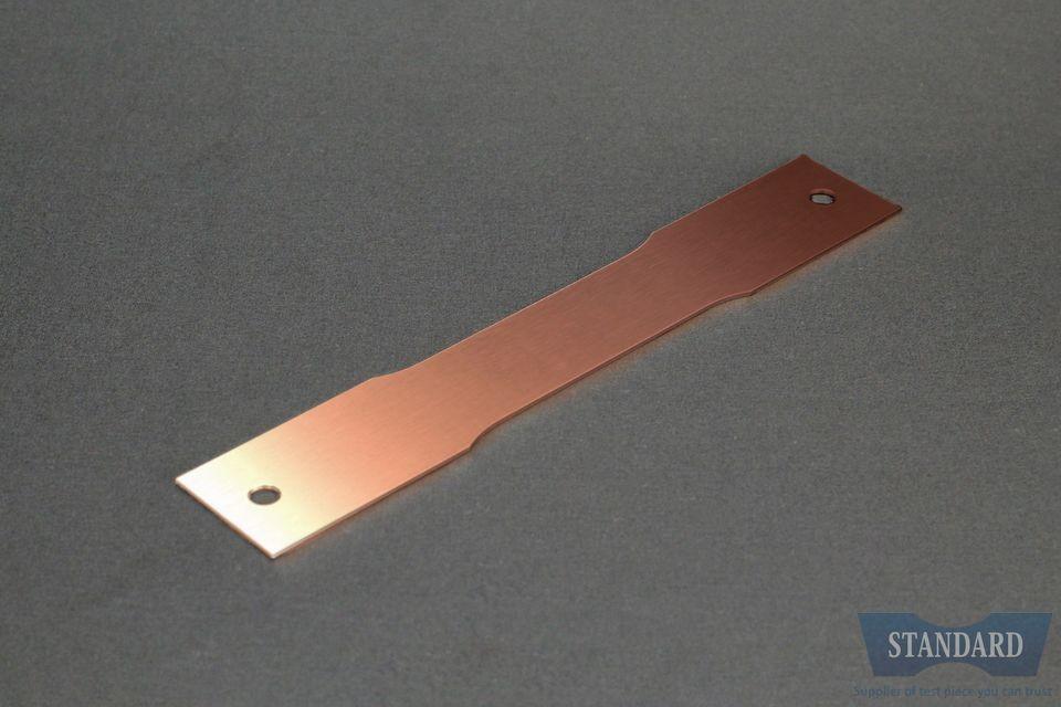 JIS Z2241,JISZ2241,5号試験片,C1100P-1/4H,銅,t0.5mm,試験片,価格C1100P-1/4H