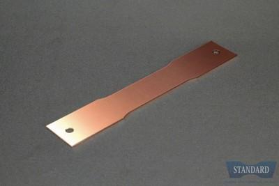 JIS Z2241 金属材料引張試験方法 5号試験片 t0.5mm 【C1100P-1/4H】